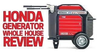 Honda Generator EU7000is Full Review - Best Home Backup Generator 2019