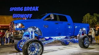 Spring Break Showoff Lifted Trucks And Jeeps In HD (offroad, Diesel, 4x4, Cummins, Power Stroke)