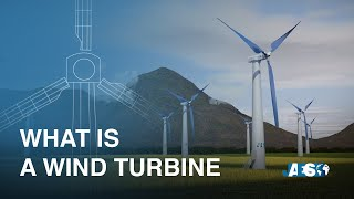 What is a WIND TURBINE and how does generate electricity? Wind power - Components - Accidents