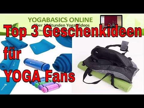 Top 3 Geschenke und Must Haves für Yoga Fans