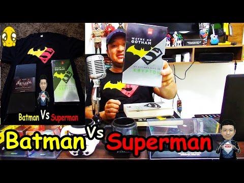Desabafo + Batman Vs Superman + DarkSide Books + LeYa