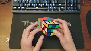 Rubik's Cube Cross Walkthrough Solves [Advanced + White Cross]