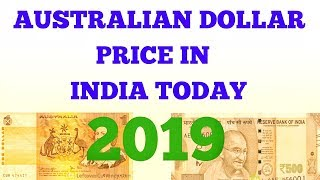 australian dollar rate in India today ll Australian dollar rate in India