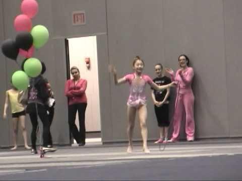 10-yr-old Elena Rope at 2011 Spring Fling Rhythmic Gymnastics 新体操小学生