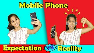 Mobile Phone Expectations Vs Reality | Funny Video Moral Story