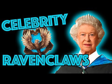 Celebrity Ravenclaws sorted by Pottermore