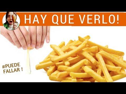 Video: Papas Fritas Al Horno Sin Aceite