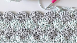 Crochet Harlequin Stitch Blanket
