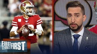 Jimmy G's turnovers proved why 49ers aren't atop the NFL in Seahawks loss   NFL   FIRST THINGS FIRST