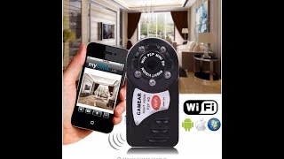 Q7 Mini Wifi DVR Wireless IP Camcorder