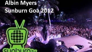 Albin Myers @ Sunburn Goa 2012
