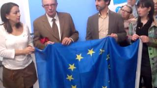 preview picture of video 'Santi Fisas, Eurodiputado, inaugura la sede del PP Sant Adrià de Besòs (Parte 2ª)'