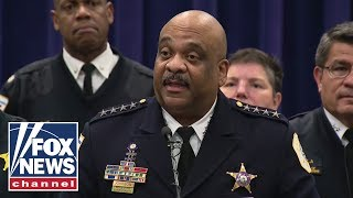Chicago Police Superintendent Eddie Johnson hits back at Trump