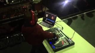 3 year old DJ Arch Jnr rocking a big crowd. (3yrs)