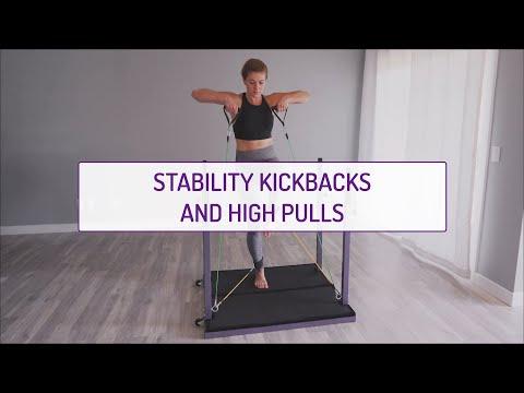 Stability Kickbacks and High Pulls