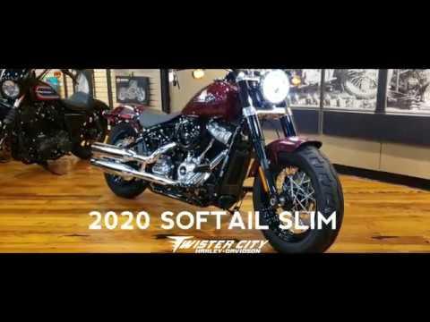 2020 Harley-Davidson® Softail Slim® : FLSL