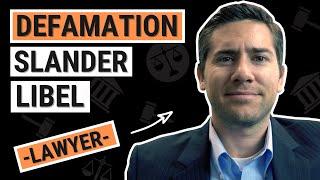 Defamation, Slander & Libel Explained by an Employment Lawyer