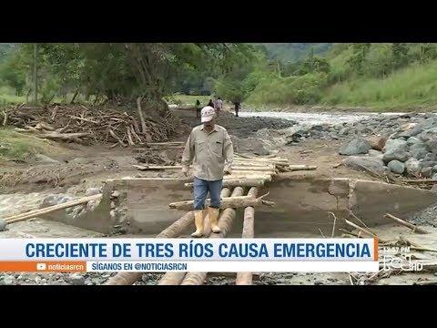 Emergencia por lluvias en Corinto, Cauca