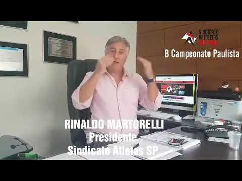Rinaldo Martorelli explica atual momento jurídico da Série B Paulista