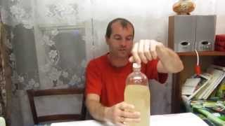 Семья Бровченко. Рецепт вкуснейшего ситро (кваса) из соцветий акации или бузины.