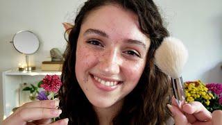 ASMR Fairy RP ✧ Spa & Makeup (layered Sounds)