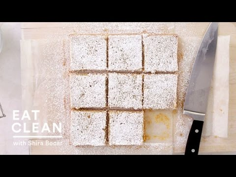 Lemon-Coconut Tofu Squares – Eat Clean with Shira Bocar