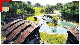 Jurassic World Evolution - CREATE YOUR OWN JURASSIC PARK! (Jurrassic World Evolution Gameplay)