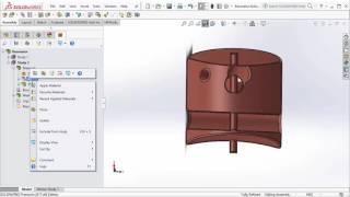 Spoke Resonator demo in HFWorks