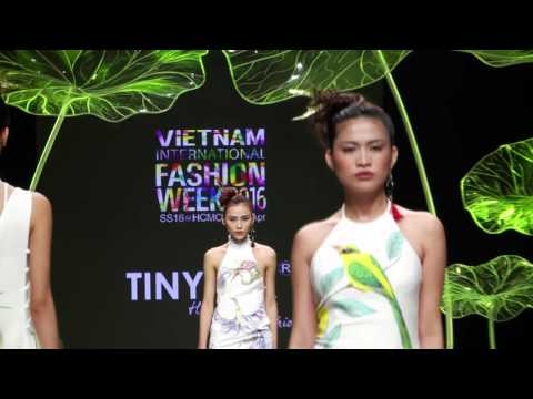 TINY INK BY HOANG QUYEN Showcase International Fashion Week 2016