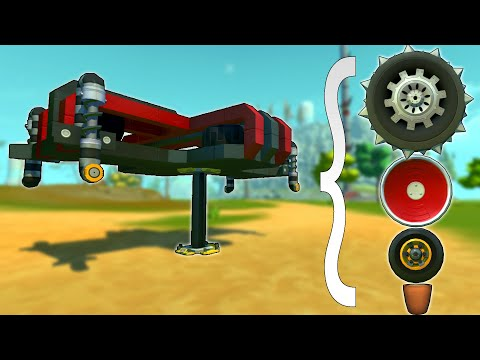 Racing But You Swap Your Wheels At Mandatory Pit Stops! - Scrap Mechanic Multiplayer Monday