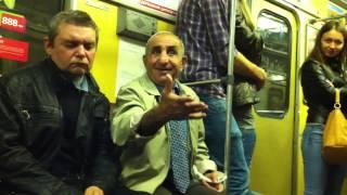 Грузин в метро