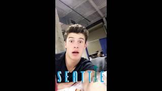 Shawn Mendes Snapchat Story 21-31 July 2016