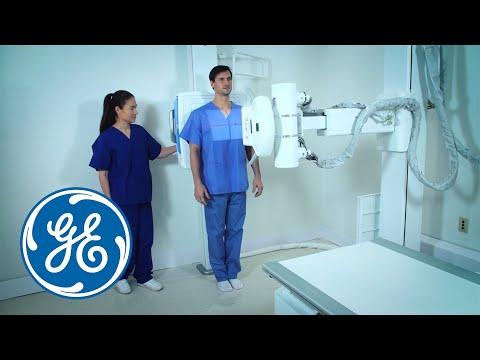 GE DX525 X-Ray Machine