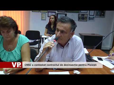 CNSC a contestat contractul de dezinsecție pentru Ploiești
