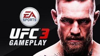 EA Sports UFC 3 BETA - Conor Mcgregor In Game Footage