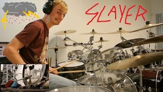 Slayer - Raining Blood [Drum Cover /w Foot Cam]