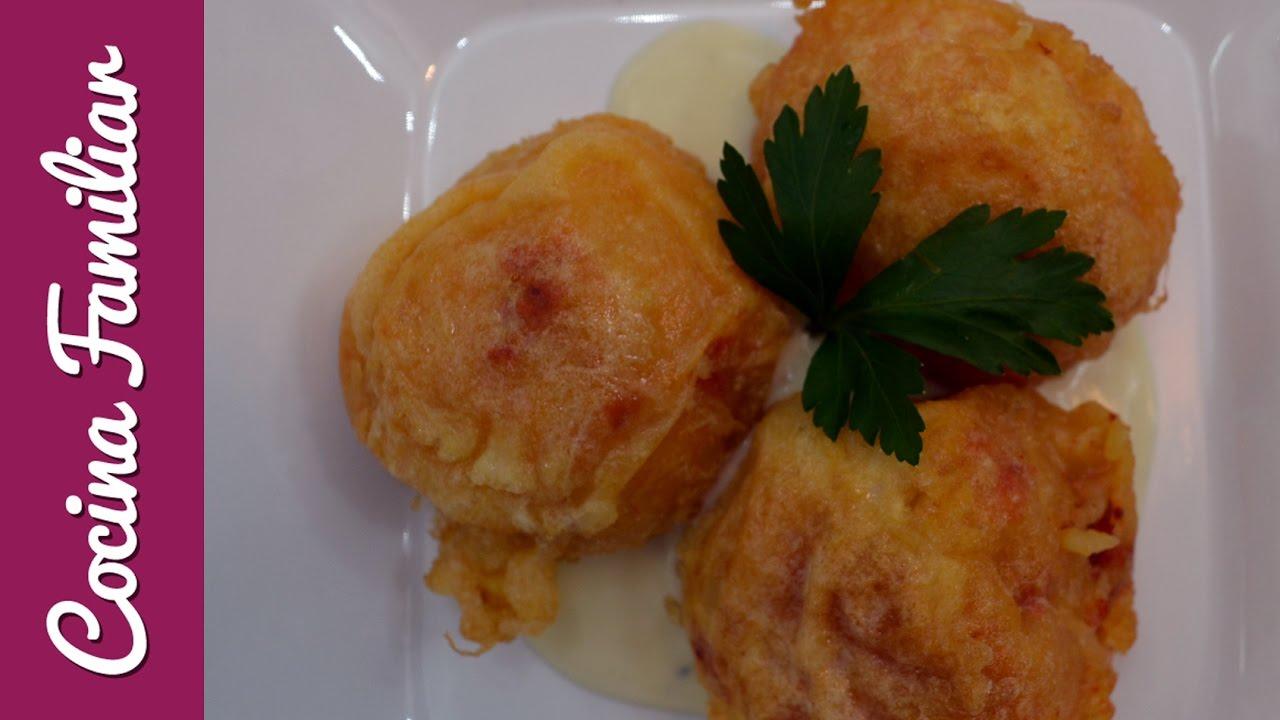 Bolas de patata y chorizo con salsa roquefor | Javier Romero Cap. 8 - Temporada 2