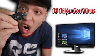 NTN - Phá Hủy PC 5000$ Bằng 10 Triệu Con Virus (Destroying my 5000$ pc with 10 million viruses)