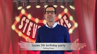Louies 5th birthday party
