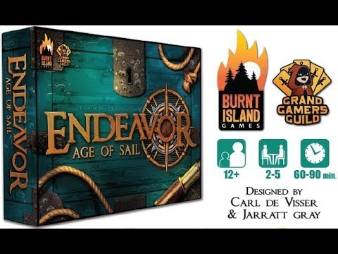 Endeavor: Age of Sail - Whats in the Box?