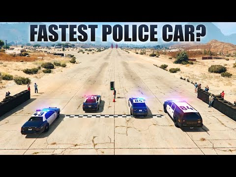 GTA V - Which Is The Fastest Police Car?