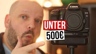Beste Vollformat Einsteiger Kamera in 2020? Canon 5d Mark II Vergleich mit Sony A7 III
