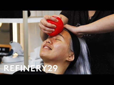I Got A Face Gym Workout Facial For $325   Beauty With Mi ...