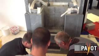 preview picture of video 'Installation d'un tulikivi TTU 2700/75 & Banquette'
