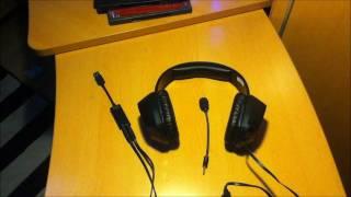 Review+unboxing von Creative Sound Blaster Tactic3D Alpha THX Gaming Headset [Deutsch/German] [HD]