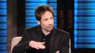 Дэвид Духовны, David Duchovny Tears Up the Bunny Hill Lopez Tonight (13.01.2011) часть 1