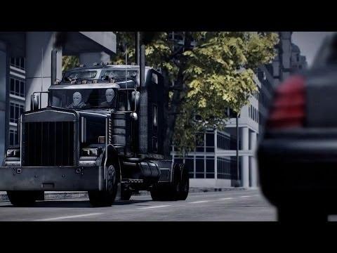 Payday 2 - Armored Transport DLC Trailer онлайн видео