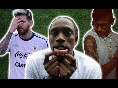 Top 10 Worst Tattoos In Football