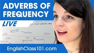 How to Use Adverbs of Frequency (often, sometimes, rarely...) - Basic English Phrases