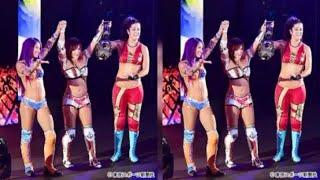 WWE日本公演凱旋勝利のカイリを支えた盟友・紫雷イオの存在